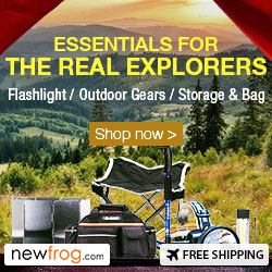 Flashlights/Outdoor Gears/Storage & Bag