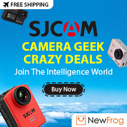 SJCAM Camera Geek Crazy Deals, Up to 70% Off
