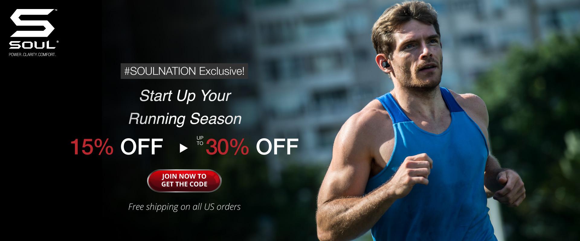 Soul Electronics - Start up your running season