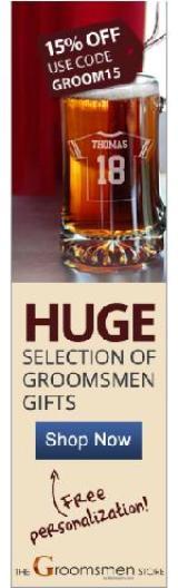 Groomsmen Gifts Banner 6