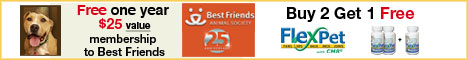 Get a FREE Membership to the Best Friends Animal Society