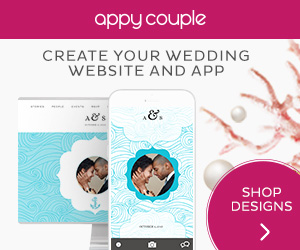 Appy Couple perfect for those planning a Destination Wedding Abroad - Create your Wedding Website and Appp