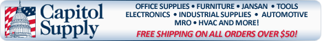 Capitol Supply - Industry leading company that focus on selling consumer goods, office supplies, electronics, hardware and more online