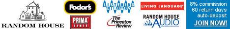 Random House - fiction, nonfiction, and children's books