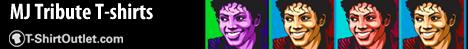 Michael Jackson T-shirts at Tshirtoutlet.com