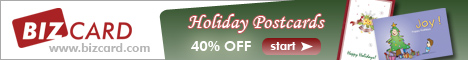 40% Off Holiday Postcards