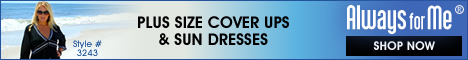Plus Size Cover Ups and Sun Dresses