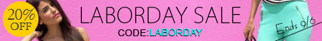 Celebrate Labor Day with 20% off site wide at Feeluxury.com!  Enter code LABORDAY at checkout.