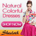 Shop for Natural, Colorful Dresses at Feeluxury.com