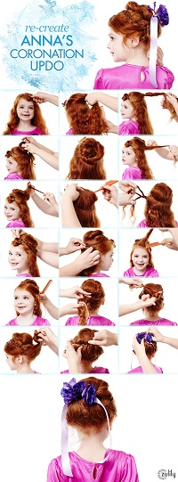 Anna's hair tutorial, Zulilly