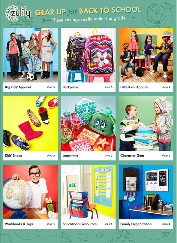 $500 Zulily's Back to School Giveaway