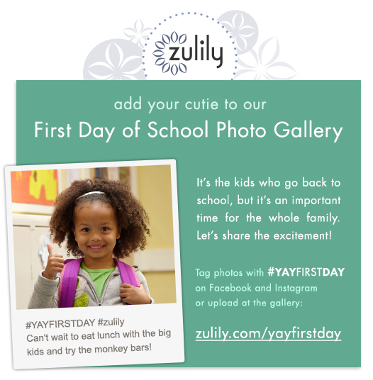 zulily #YayFirstDay Photo Contest