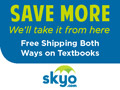 Get your textbooks from Skyo.com