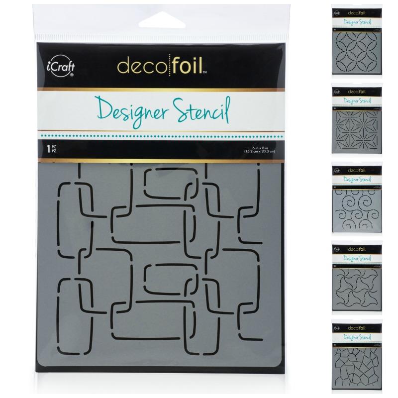 Deco Foil Designer Stencils