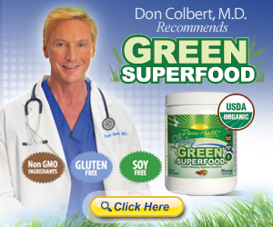 DrColbert - Green Superfood! Click Here!