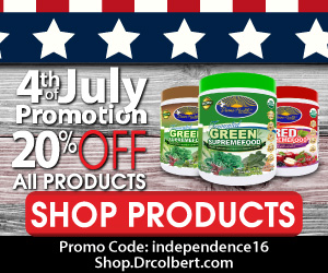 4th of July 20% off promotion