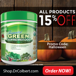 Drcolbert.com Halloween Special - 15% Off on all orders