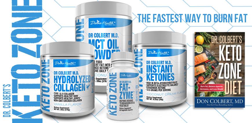 DrColbert's Keto Zone, The Fastest way to Burn Fat