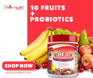 Shop.Drcolbert.com Red Supreme Supplement Promotion