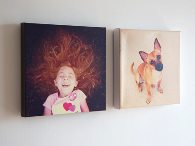 Canvas prints from Instagram photos