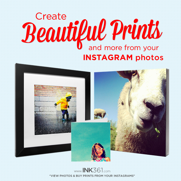 Print your Instagrams and more