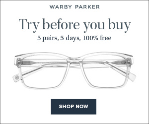 b459edd876 One way in which Warby Parker makes online-ordering of glasses   sunglasses  easier is that they offer a Home Try-On program FOR FREE. You read that  right.