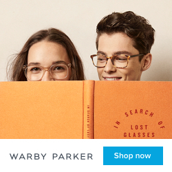 5c683ddcc99 Warby Parker s Home Try-On Review - Plaid Shirt Yoga Pants