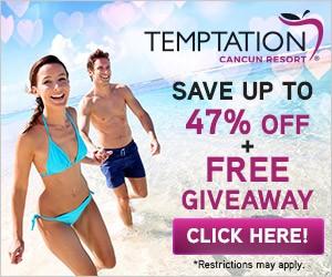 Temptations Resort Cancun Discount