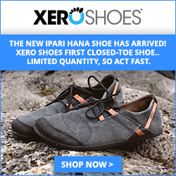 The NEW Ipari Hana Shoe has arrived at Xero Shoes!  Limited quantity, so act fast.