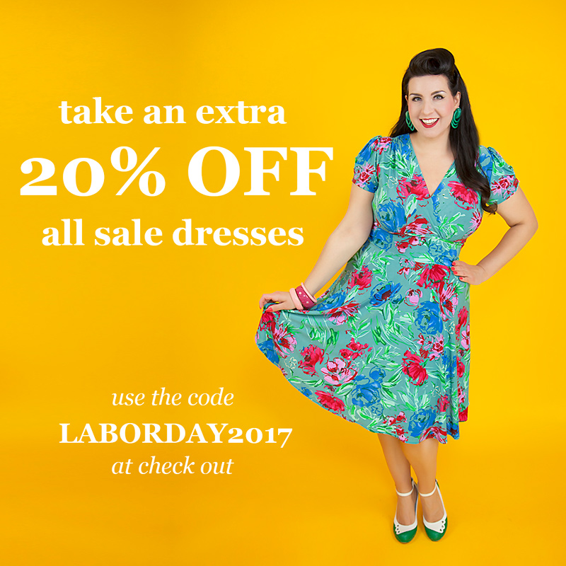 20% Off All Sale Dresses