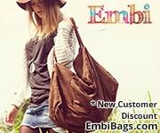 Summer Sale Embi Bags Pink Boho Purse