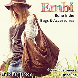 Embi Bags Large Suede Tote Boho Hippie Bag 250x250