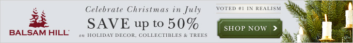 Christmas in July Sale Save Up to 50% + Free Shipping! Sale Ends July 31st.
