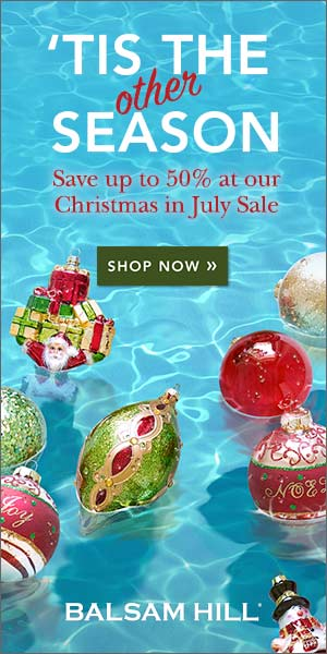 Celebrate Christmas in July with Balsam Hill US. Save Up to 50% + Free Shipping within the Continental US. Shop now!