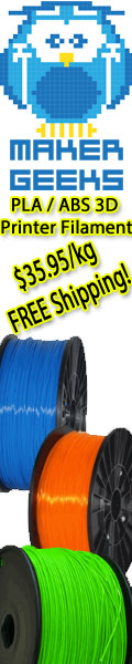 Buy 3D Printer ABS and PLA Filament with FREE Shipping