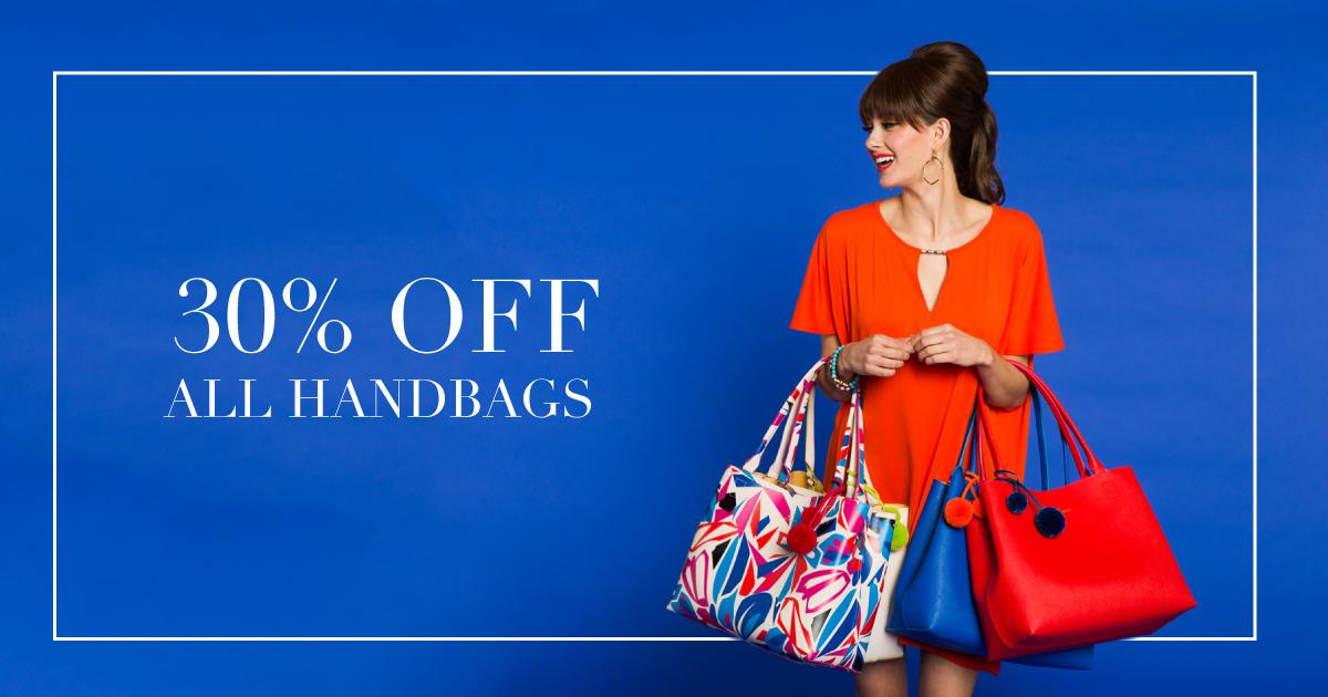 30% off Handbags