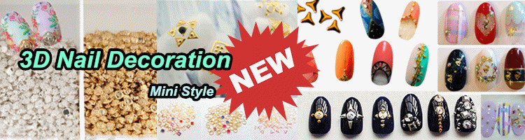 $10-$20 Order get $3 voucher on 3D Nail Art Decoration