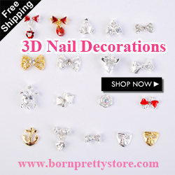 BornPrettyStore 3D Nail Art Decorations $0.99