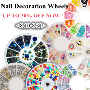 Nail Art Decorations Set from $1.99