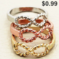 $0.99 Infinite Ring Free Shipping Included