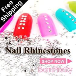 BornPrettyStore Nail Rhinestone $0.99