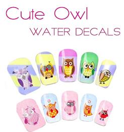 50% off Nail Water Stickers Ships in 24 Hours