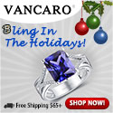 Bling in the holiday with exquisite fashion jewelry from Vancaro.com!