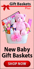 New Baby Gift Baskets from Gift Baskets Plus