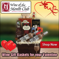 Valentine Gift Ideas for Him & Her from Wine of the Month Club