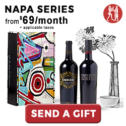 Napa Series Gift Memberships starting at $69 per month. Visit WineoftheMonthClub.com