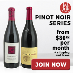 Pinot Noir Series Gift Memberships starting at just $99 per month. Visit WineoftheMonthClub.com