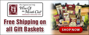 Free Shipping on all Gift Baskets!