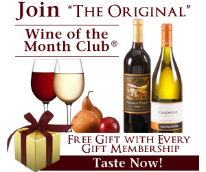 "Free Gift with Every Gift Membership!,Free Wine Explorers Kit with Rose Series Gift Membership to Wine of the Month Club. Starting at $53/shipment ( shipping, gift box and gift card included) First Shipment is delivered in a beautiful gift box featuring the art of Alen Marlin. Our Wine Explorers kit, contains: a corkscrew, wine vintage chart, wine pouring disk and our newsletter, ""The Tasting Room,"" complete with recipes, cellaring suggestions and more. Shop the ""Original"" Wine of the Month Club since 1972 and give with confidence."