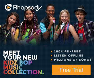 Listen to Children's Music with Rhapsody.com
